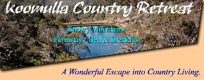 Koomulla Country Retreat - Accommodation Bookings