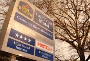 Best Western Tall Trees Motel - Accommodation Bookings