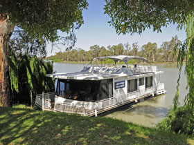 Moving Waters Self Contained Moored Houseboat - Accommodation Bookings
