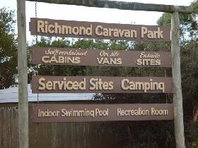 Richmond Cabin  Tourist Park - Accommodation Bookings