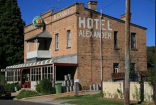Alexander Hotel Rydal - Accommodation Bookings