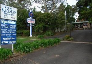 Blackheath Motor Inn - Accommodation Bookings