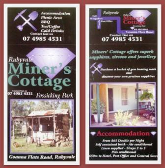 Miner's Cottage - Accommodation Bookings
