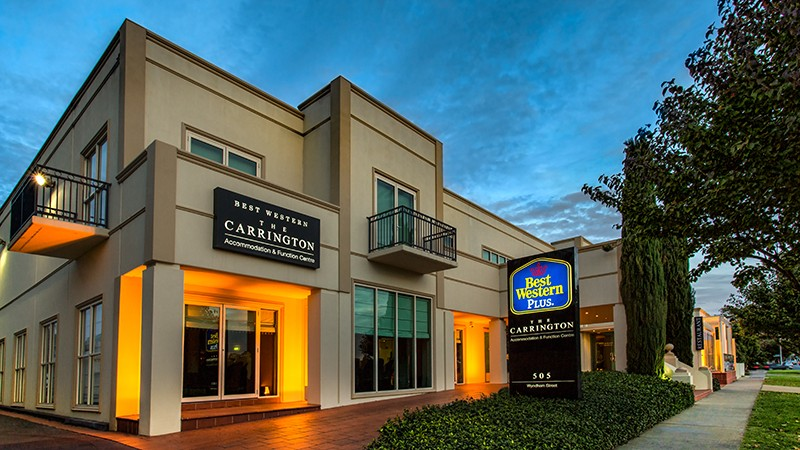 BEST WESTERN PLUS The Carrington - Accommodation Bookings