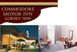 Commodore Motor Inn - Accommodation Bookings