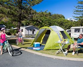 Ocean Beach Tourist Park - Accommodation Bookings