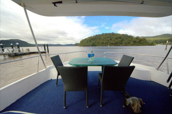 Luxury Afloat Hawkesbury River and Brooklyn - Accommodation Bookings