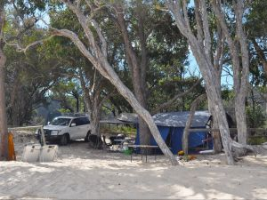 Moreton Island National Park and Recreation Area camping - Accommodation Bookings