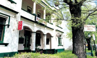 Healesville Hotel - Accommodation Bookings