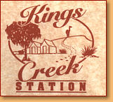 Kings Creek Station - Accommodation Bookings