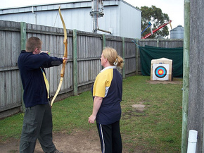 Bairnsdale Archery Mini Golf  Games Park - Accommodation Bookings