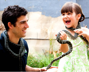 Reptile Encounters - Accommodation Bookings