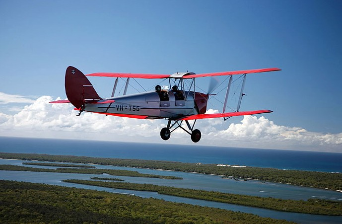 Tigermoth Joy Rides - Accommodation Bookings