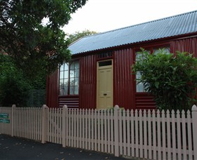 19th Century Portable Iron Houses - Accommodation Bookings