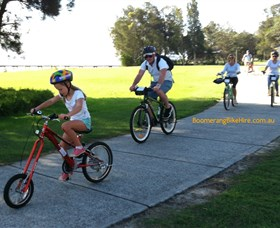 Boomerang Bikes Central Coast Bike Tours - Accommodation Bookings
