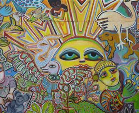 The Painting of Life by Mirka Mora - Accommodation Bookings