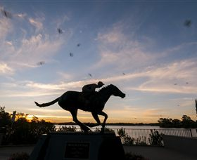 Black Caviar Statue - Accommodation Bookings