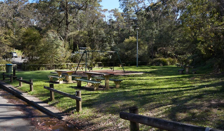 Gordon Falls lookout and picnic area - Accommodation Bookings