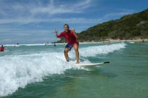 Rainbow Beach Surf School 2 Hour Main Beach Surf Lesson - Accommodation Bookings