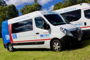 Brisbane Airport Departure shuttle Transfer from Sunshine Coast Hotels/addresses - Accommodation Bookings