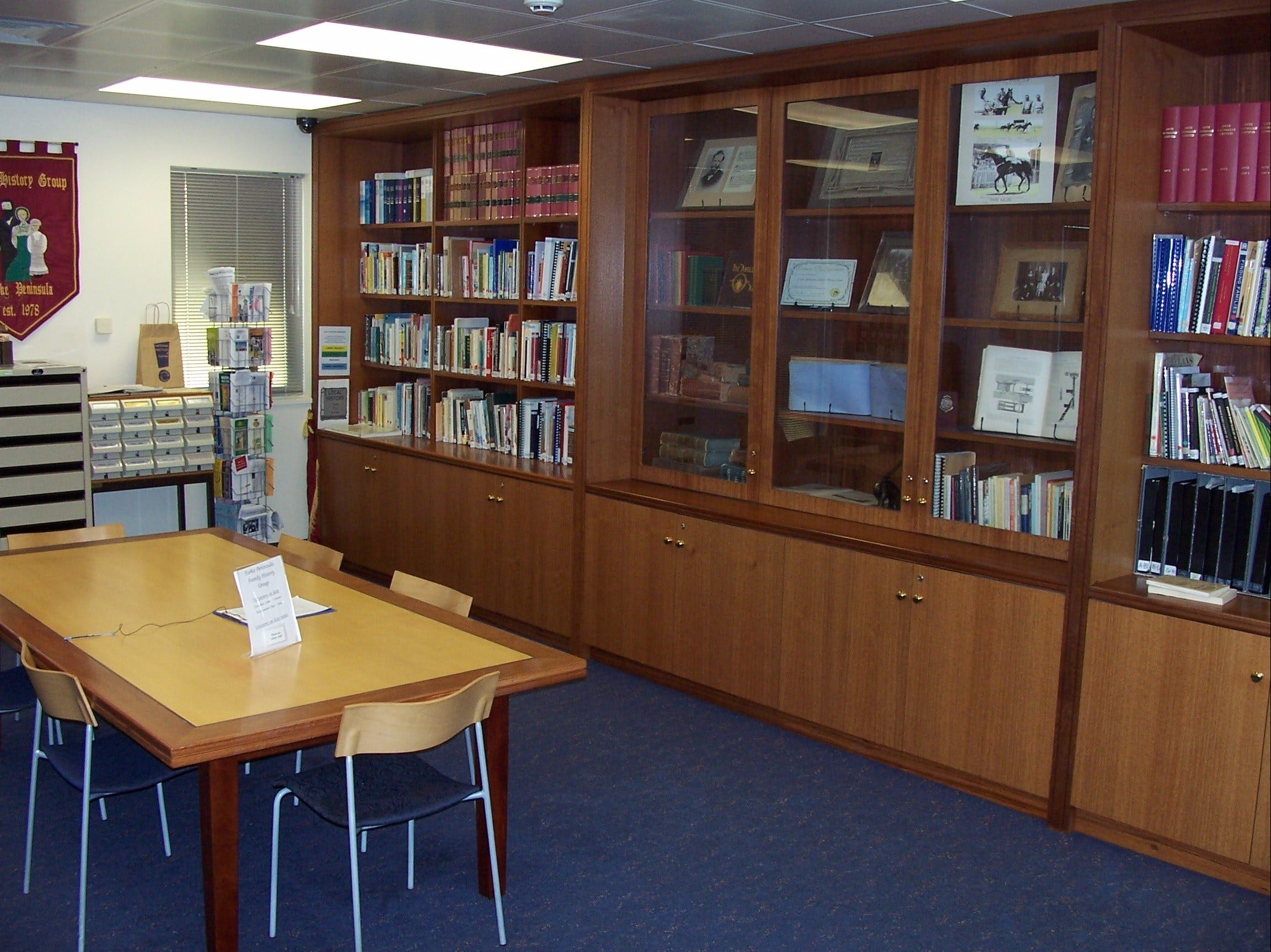 Local History Room - Accommodation Bookings