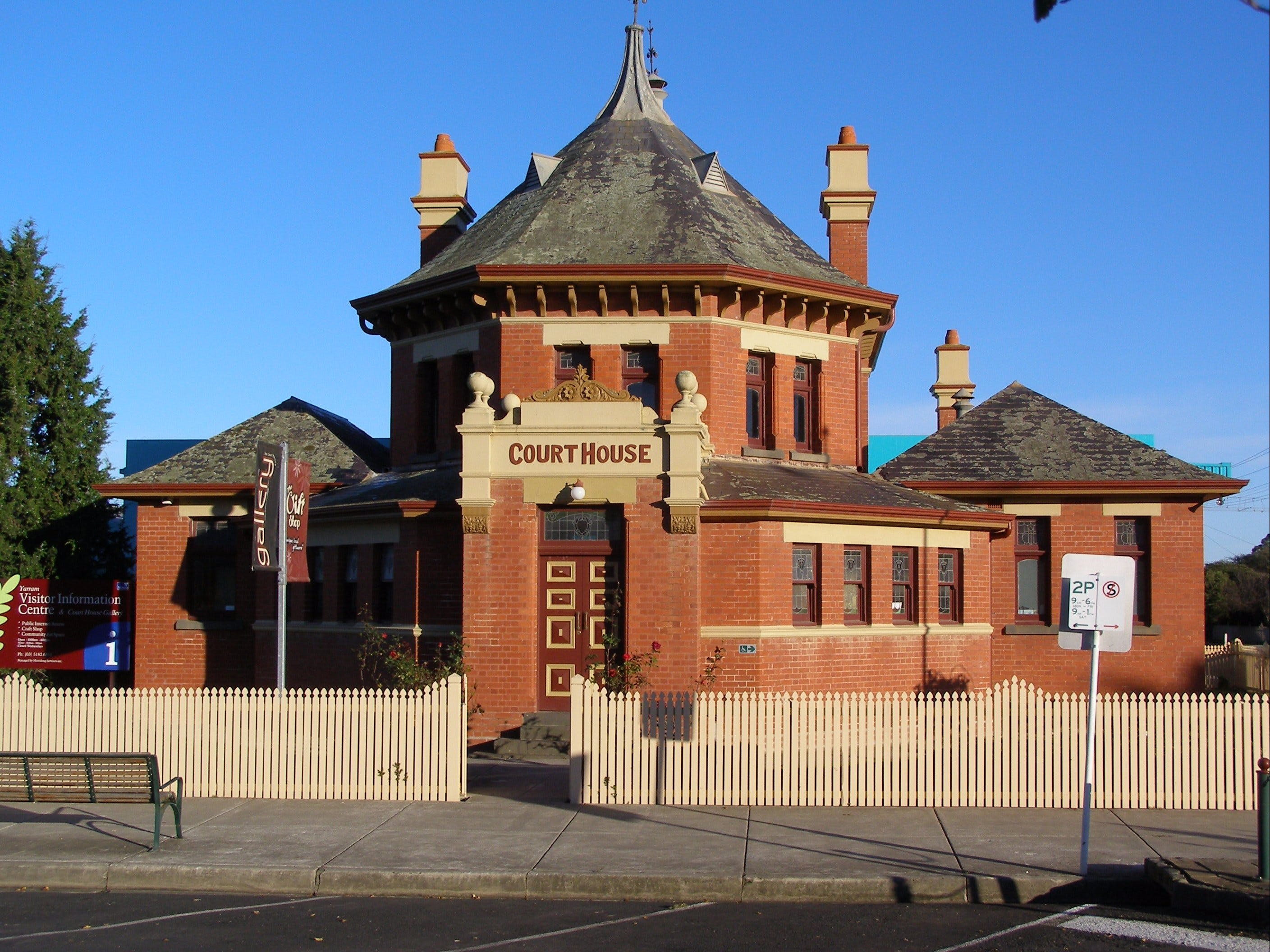 Yarram Courthouse Gallery - Accommodation Bookings