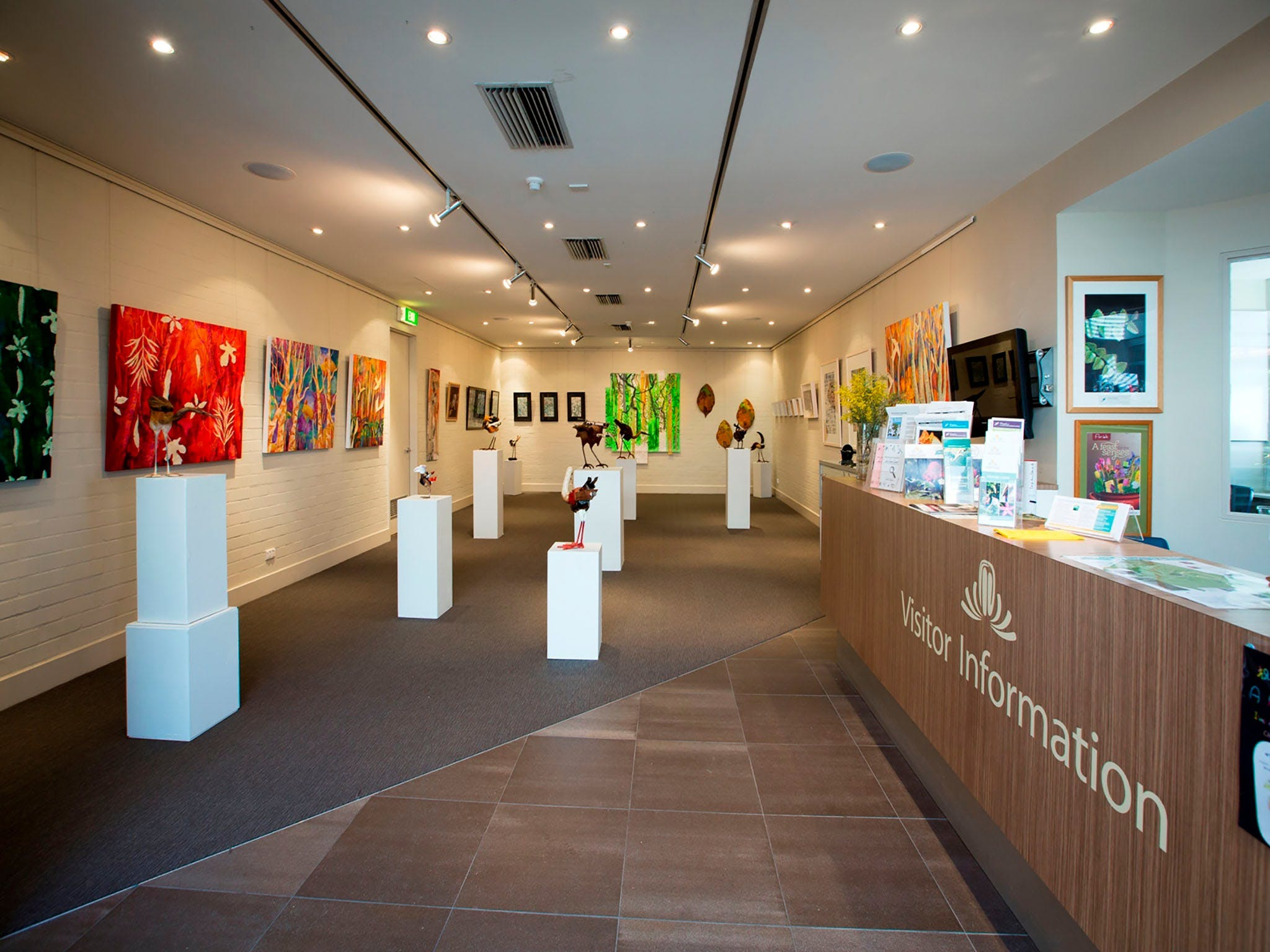 Australian National Botanic Gardens Visitor Centre Gallery - Accommodation Bookings