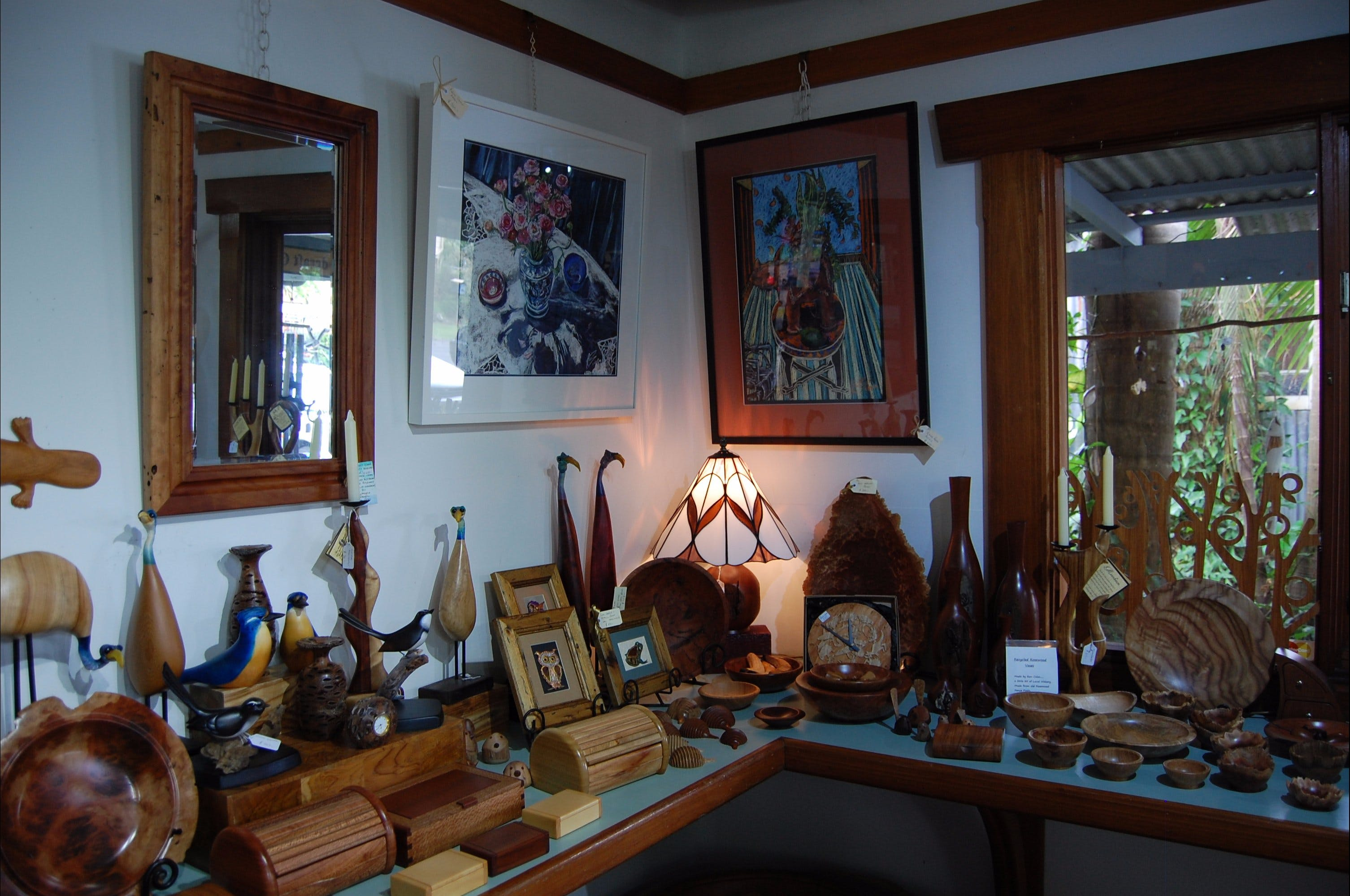 The Woodcraft Gallery - Accommodation Bookings
