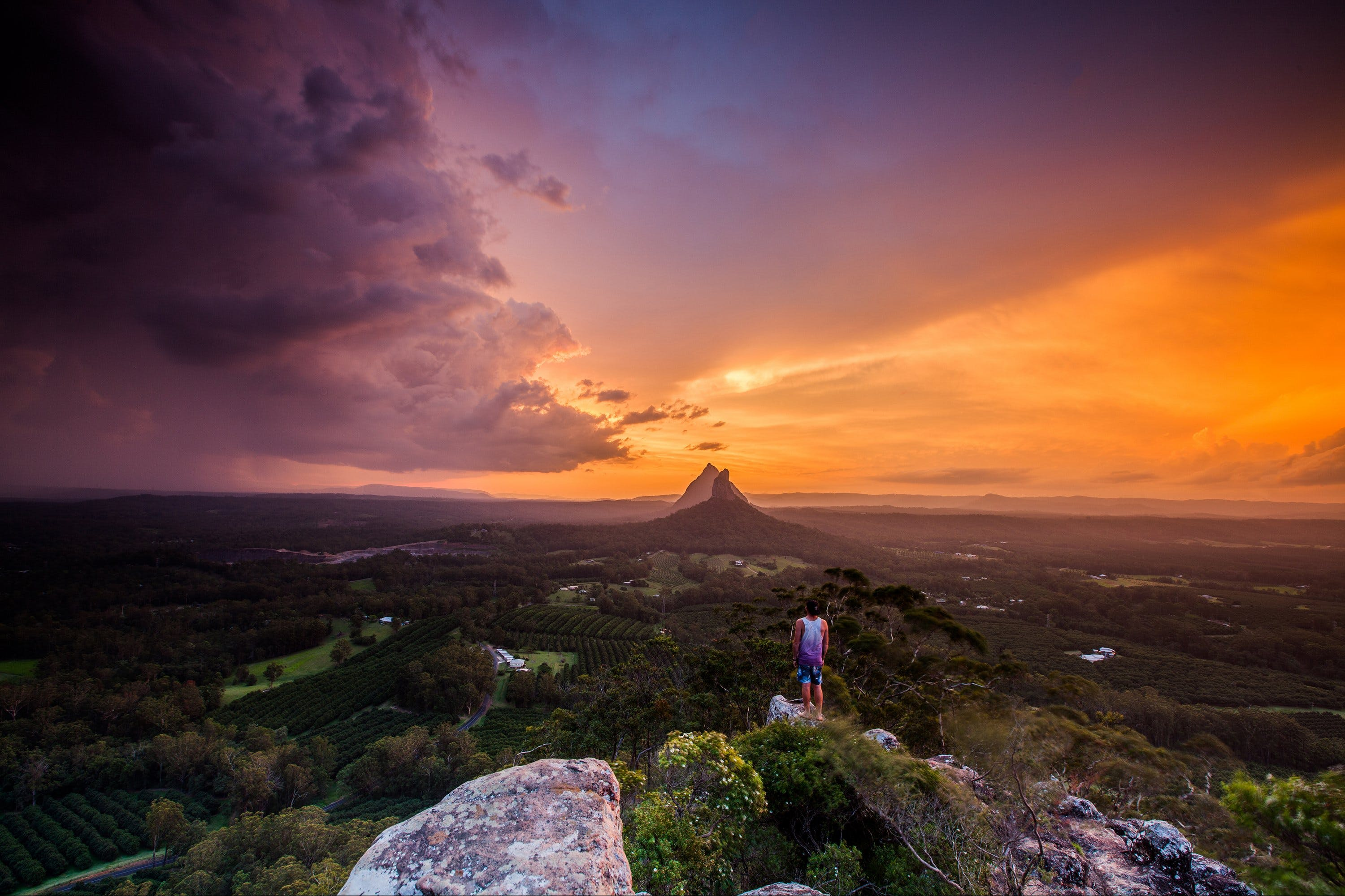 Glass House Mountains - Accommodation Bookings
