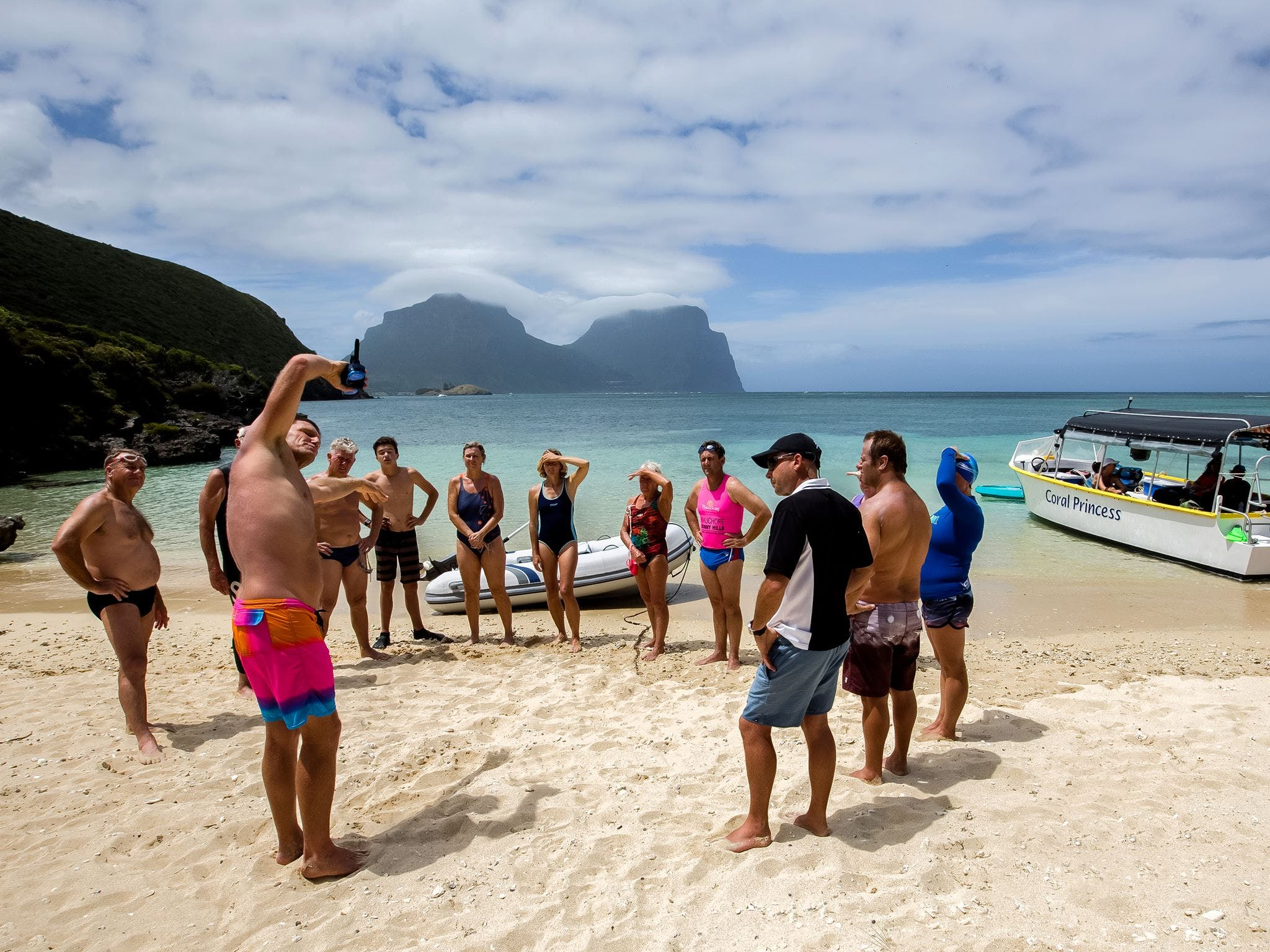Ocean Swim Week with Trevor Hendy Pinetrees Lord Howe Island - Accommodation Bookings