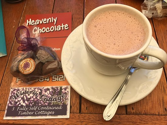 Stanthorpe's Heavenly Chocolate at Wisteria Cottage - Accommodation Bookings
