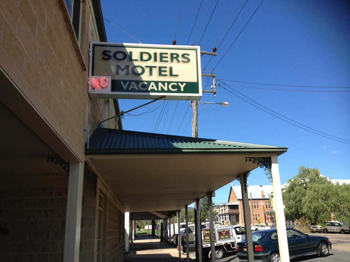 Soldiers Motel - Accommodation Bookings