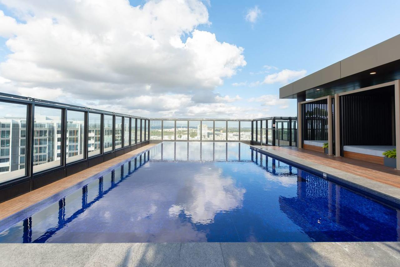 Japanese Style waterfront apt wt rooftop pool - Accommodation Bookings