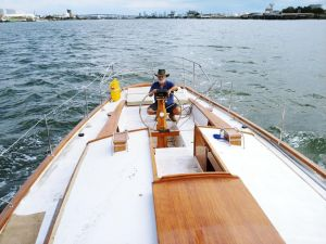 Cruising Yacht in Marina - Accommodation Bookings