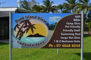 Dunk Island View Caravan Park - Accommodation Bookings