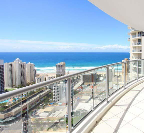 Beach Stay - Ocean  Riverview resort Chevron Renaissance central Surfers Paradise - Accommodation Bookings