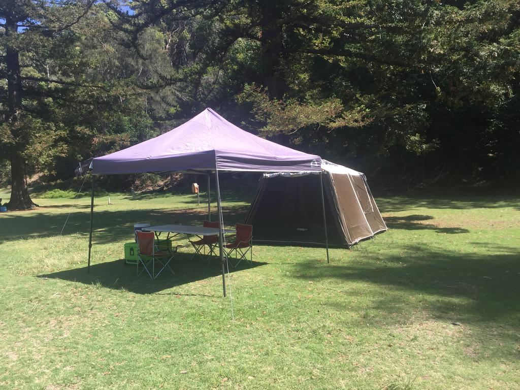 Basin Ku-ring-gai Campsite Set Up - Accommodation Bookings